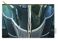 Carry-all Pouch featuring the photograph 1940 Ford Classic Deluxe Two Door Sedan V-8 by Jerry Cowart