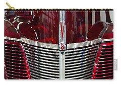 1940 Ford V8 Grill  Carry-all Pouch by Eti Reid