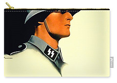 1941 - German Waffen Ss Recruitment Poster - Nazi - Color Carry-all Pouch
