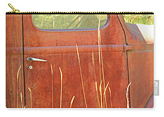 Carry-all Pouch featuring the photograph 1941 International Truck by E Faithe Lester