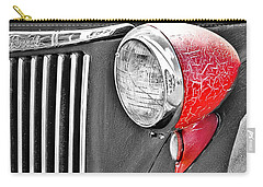 1944 Ford Pickup - Headlight - Sc Carry-all Pouch by Mary Carol Story