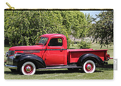 Carry-all Pouch featuring the photograph 1946 Chevy Pickup by E Faithe Lester