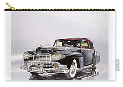 1946 Lincoln Continental Convertible Foggy Reflection Carry-all Pouch by Jack Pumphrey