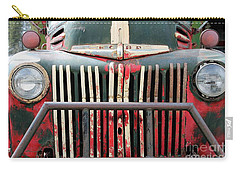 1946 Vintage Ford Truck Carry-all Pouch by Fiona Kennard