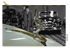 1947 Packard Hood Ornimate Carry-all Pouch by Michael Gordon