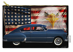 Carry-all Pouch featuring the photograph 1949 Pontiac Tribute Roger by Peter Piatt