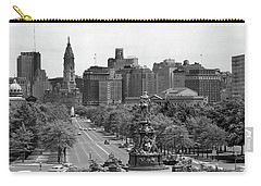 1950s Benjamin Franklin Parkway Looking Carry-all Pouch
