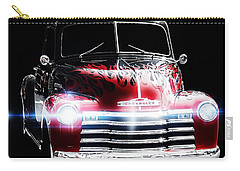 Classic Cars Carry-all Pouch featuring the photograph 1950's Chevrolet Truck by Aaron Berg