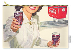 1952 - Coca-cola Advertisement - Color Carry-all Pouch