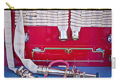 1952 L Model Mack Pumper Fire Truck Hoses Carry-all Pouch by Jill Reger