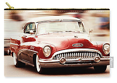 Vintage Car Carry-all Pouch featuring the photograph 1953 Buick Super by Aaron Berg