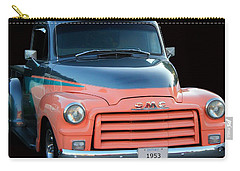 1953 Gmc Pick-up Carry-all Pouch by Davandra Cribbie