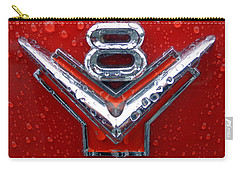 1955 Ford V8 Emblem Carry-all Pouch