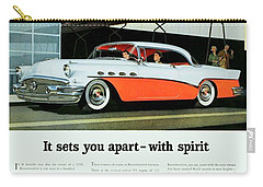 1956 - Buick Roadmaster Convertible - Advertisement - Color Carry-all Pouch