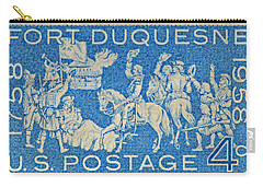 1958 Battle Of Fort Duquesne Stamp Carry-all Pouch