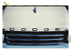 1958 Dodge Sweptside Truck Grille Carry-all Pouch by Jill Reger
