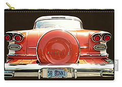 1958 Pontiac Bonneville Carry-all Pouch by Diana Angstadt