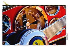 1960 Ferrari 250 Gt Cabriolet Pininfarina Series II Steering Wheel Emblem -1319c Carry-all Pouch