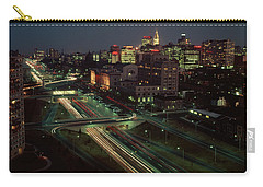 1960s Night View Vine Street Expressway Carry-all Pouch
