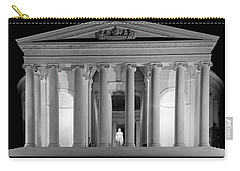 1960s Thomas Jefferson Memorial Lit Carry-all Pouch