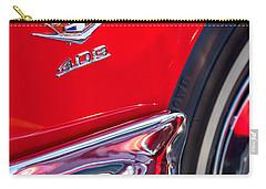 1962 Chevrolet Impala Ss 409 Emblem Carry-all Pouch