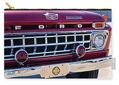 1965 Ford American Lafrance Fire Truck Carry-all Pouch by Jill Reger