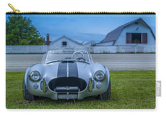 1965 Ford Shelby Cobra American Roadster Carry-all Pouch by Ken Morris