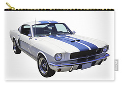 1965 Gt350 Mustang Muscle Car Carry-all Pouch by Keith Webber Jr