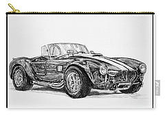 1965 Shelby Ac Cobra Carry-all Pouch by J McCombie