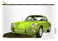 Porsche 911 Sportscar Carry-all Pouch by Jack Pumphrey