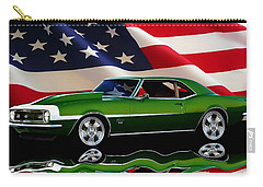 1968 Camaro Tribute Carry-all Pouch by Peter Piatt
