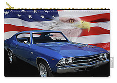 1969 Chevelle Tribute Carry-all Pouch by Peter Piatt