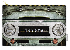 1969 Toyota Fj-40 Land Cruiser Grille Emblem -0444ac Carry-all Pouch