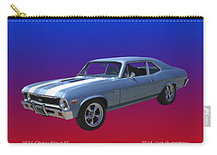 1971 Chevy Nova S S Carry-all Pouch by Jack Pumphrey