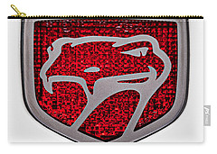 1998 Dodge Viper Gts-r Emblem Carry-all Pouch by Jill Reger