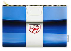1998 Dodge Viper Gts-r Grille Emblem Carry-all Pouch by Jill Reger