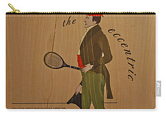 19th Century Tennis Player 2 Carry-all Pouch