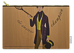 19th Century Tennis Player 3 Carry-all Pouch