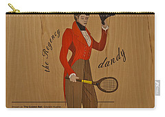 19th Century Tennis Player Carry-all Pouch