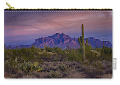 A Beautiful Desert Evening  Carry-all Pouch