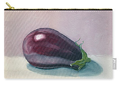 A Is For Aubergine Carry-all Pouch