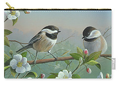 Carry-all Pouch featuring the painting A Wonderful Day by Mike Brown