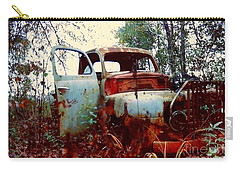 Carry-all Pouch featuring the photograph Abandoned  Journey  by Michael Hoard
