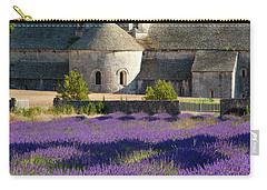 Abbaye De Senanque Carry-all Pouch by Brian Jannsen