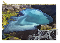 Carry-all Pouch featuring the photograph Aerial Photography by Gunnar Orn Arnason