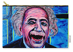 Albert Einstein Carry-all Pouch by Viktor Lazarev