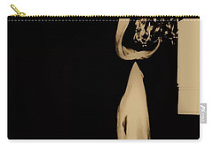 Carry-all Pouch featuring the photograph Alone  by Jessica Shelton