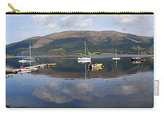 Carry-all Pouch featuring the photograph Along Loch Leven 3 by Wendy Wilton