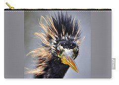Carry-all Pouch featuring the photograph Anhinga  by Savannah Gibbs