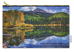 Approaching Storm  Carry-all Pouch by Priscilla Burgers
